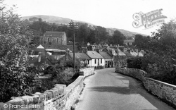 Creetown, The Rc Chapel And Larg Hill c.1955