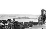 Cremyll, Drake's Island From Mount Edgcumbe 1890