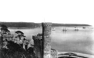Cremyll, Mount Edgcumbe, The Fort And The Breakwater 1890
