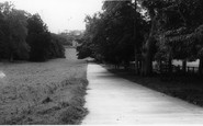 Cremyll, The Drive To Edgecombe House c.1965