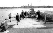 Cremyll, The Ferry c.1955