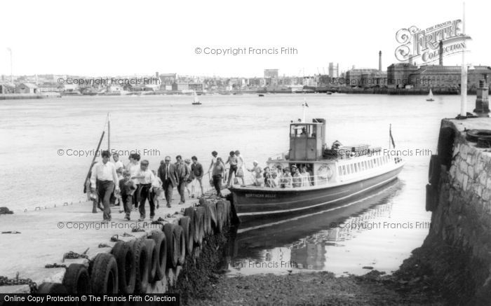 Cremyll, The Ferry c.1965