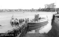 Cremyll, The 'northern Belle' Ferry c.1965