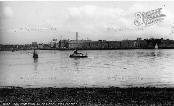 Photo of Cremyll, The River c.1960