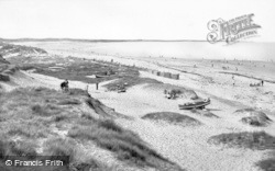 Cresswell, Druridge Bay c.1955