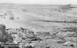 Cresswell, Druridge Bay Looking North c.1960