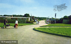 Cresswell, Entrance To Cresswell Towers Chalet Site c.1965