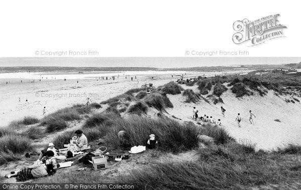 Photo of Cresswell, the Beach c1955, ref. C460019