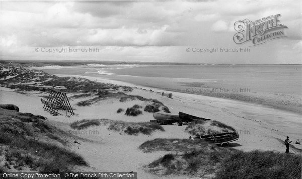 Photo of Cresswell, the Beach c1960, ref. C460038