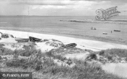 Cresswell, The Beach c.1960