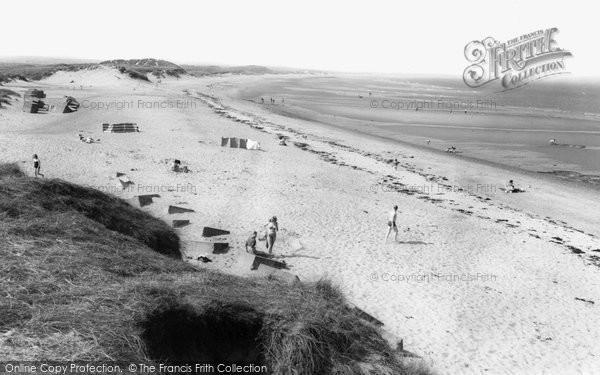 Photo of Cresswell, the Beach c1960, ref. C460054