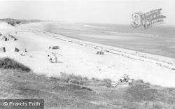 Cresswell, The Beach c.1965