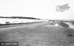 Cresswell, The Caravan Park c.1965
