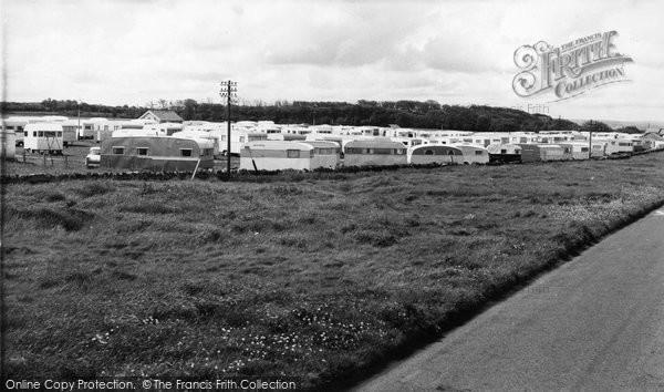 Photo of Cresswell, The Caravan Site c.1960