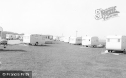 Cresswell, The Caravan Site c.1965