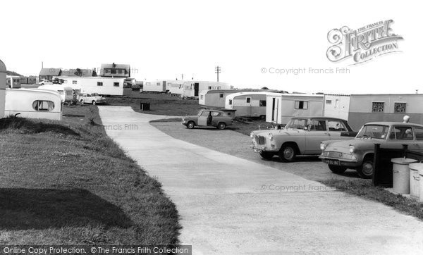 Photo of Cresswell, the Caravan Site c1965, ref. C460058