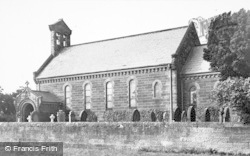 Cresswell, The Church c.1955