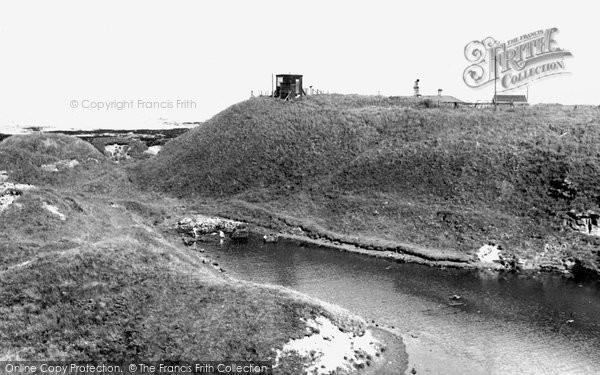 Photo of Cresswell, the Coastguard Lookout c1955, ref. C460024