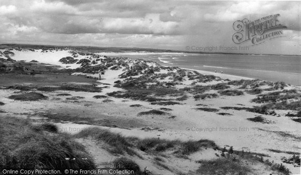 Photo of Cresswell, The Sand Dunes c.1960