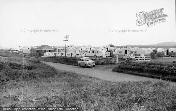 Photo of Cresswell, the Trailer Camp c1955, ref. C460028