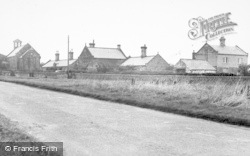 Cresswell, The Village c.1955