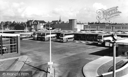 Crewe, Bus Station c.1960