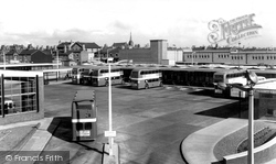 Bus Station c.1960, Crewe