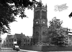 Christ Church c.1950, Crewe
