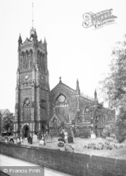 Crewe, Christ Church c.1960