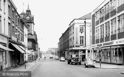 Earle Street c.1960, Crewe