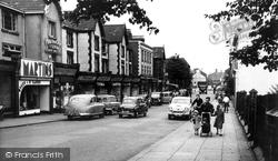 Crewe, Market Street 1956