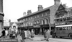 Crewe, Market Street c.1950
