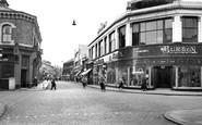 Crewe, Market Street c1955