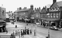 Crewe, Market Street c.1955