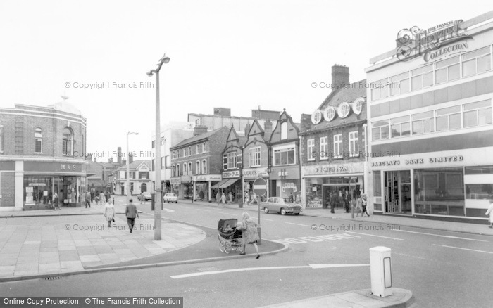 Photo of Crewe, Market Street c.1965