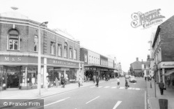 Crewe, Market Street c.1965