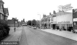 Crewe, Nantwich Road c.1965