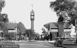 Queen's Park, The Main Entrance c.1950, Crewe