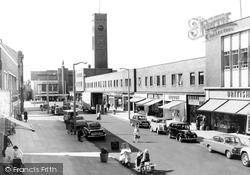 Crewe, Queensway c.1960