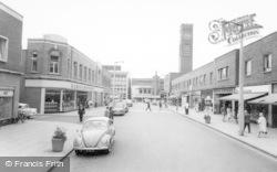 Crewe, Queensway c.1965