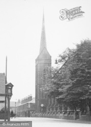 Crewe, St Paul's Church 1951
