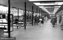 The Bus Station c.1960, Crewe