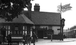 Crewe, The Chetwode Arms 1951