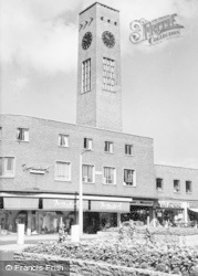 Crewe, The Clock Tower c.1960