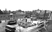 Crewe, the Square c1955