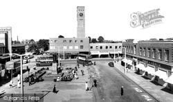 Crewe, The Square c.1957