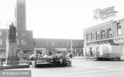Crewe, The Square c.1965