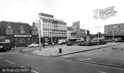 The Square c.1965, Crewe