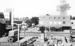 Crewe, Town Centre 1957
