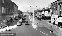 Crewe, Victoria Street c.1960